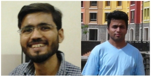 Saurabh Mahajan (left) and Chaitanya Athale, authors of a recent paper on the role of microtubules in neuronal pathfinding in Biophysical Journal (103:2432–2445)