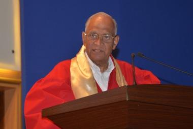 Chief Guest Prof M. M. Sharma