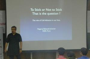 Dr. Nagaraj Balasubramanian discusses cell adhesion