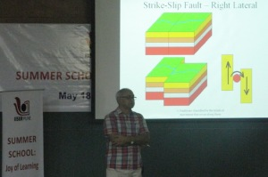 Prof Rai at the Summer School