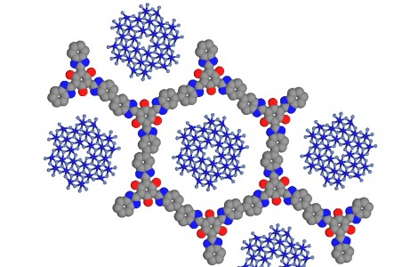 New porous supports help split water and  release industrially valuable hydrogen and oxygen