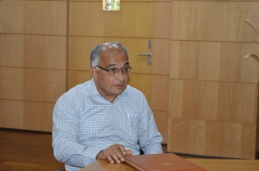 Prof. Jayant B. Udgaonkar takes over as Director, IISER Pune