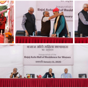 Inauguration of the Bajaj Auto Hall of Residence for Women